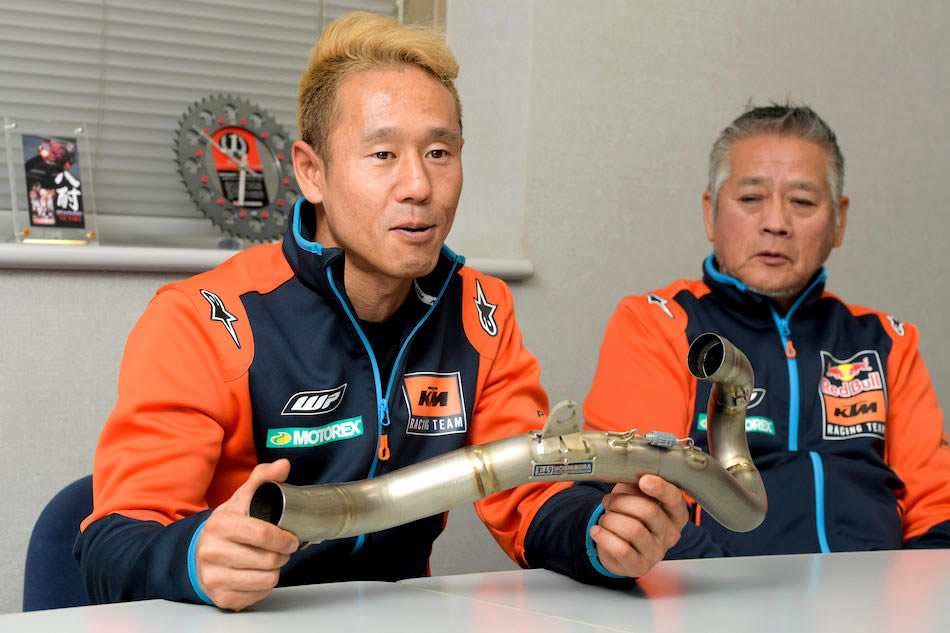 正規『USヨシムラ』マフラーが全日本モトクロスを席巻する