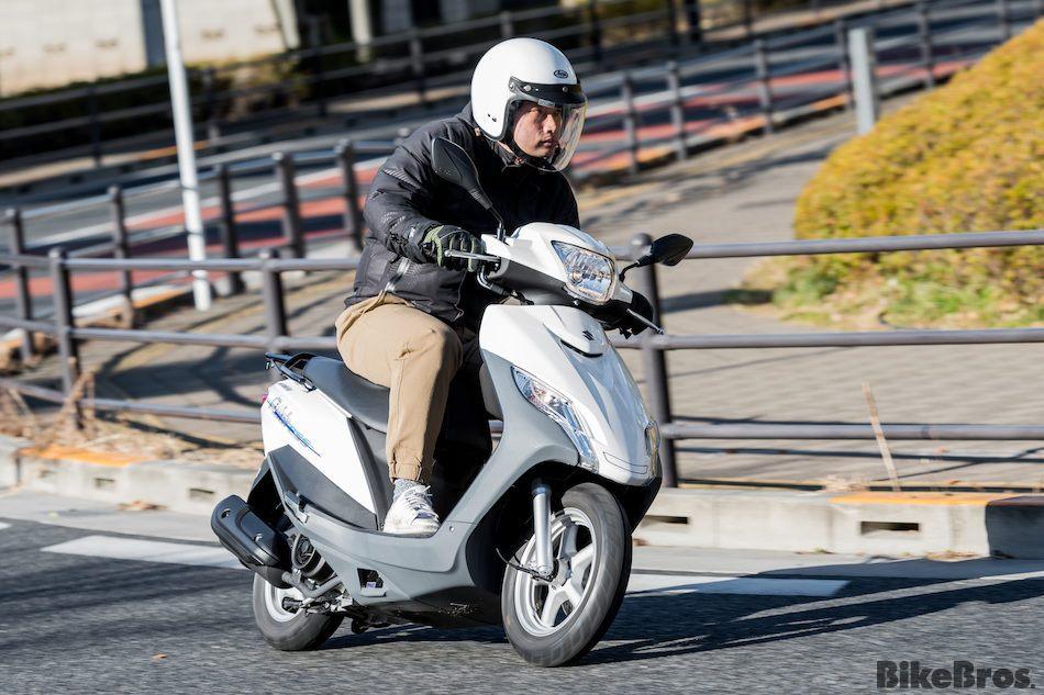低燃費と力強い走りを両立した「アドレスシリーズ」の最新作!の画像