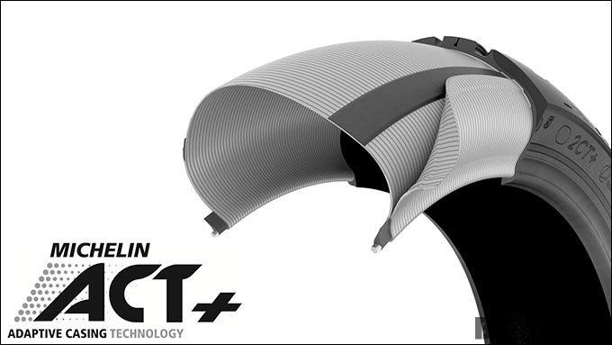 摩耗しても優れたグリップ性能を維持するミシュランの『ROAD5』とは?の画像