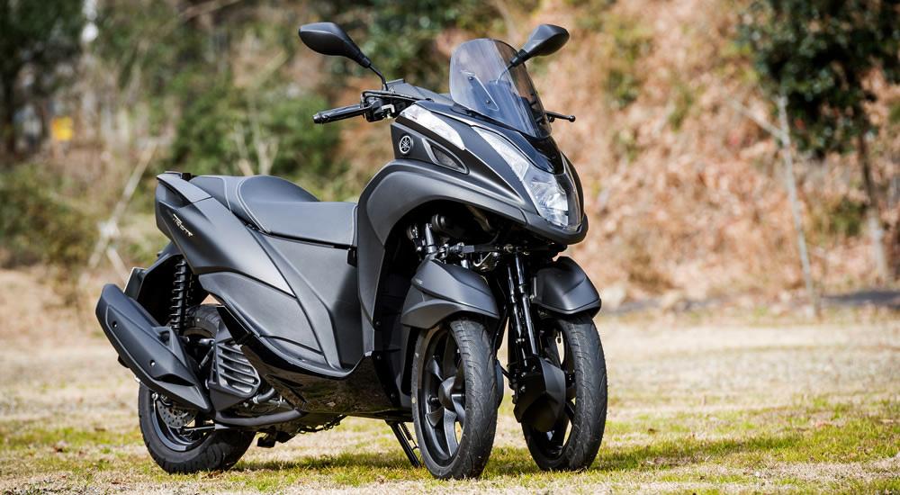 魅力溢れる「155cc・3輪スクーター」という新ジャンルの画像