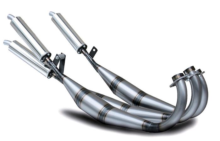 スチール製マテリアルでベンドパイプのエキパイを持つタイプ1のストレート仕様。純正マフラーと同じレイアウトを持つ。溶接継ぎ目の焼け跡を敢えて演出するために、TIG溶接ではなくガス溶接を採用。ミドル各車用ともに税込6万8250円。