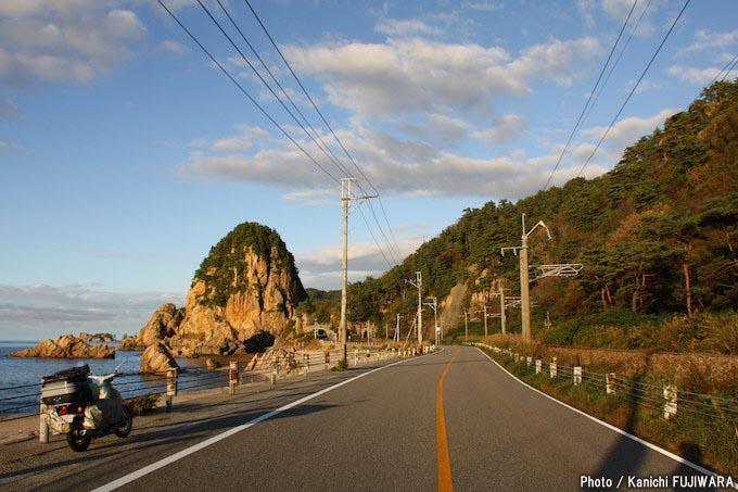 国道めぐり 国道345号(新潟県新潟市~山形県飽海郡遊佐町)の画像