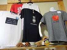 かっこいいでしょう?!中山道69次のうち、木曽街道には11の宿場がありました。それを表しているTシャツです。