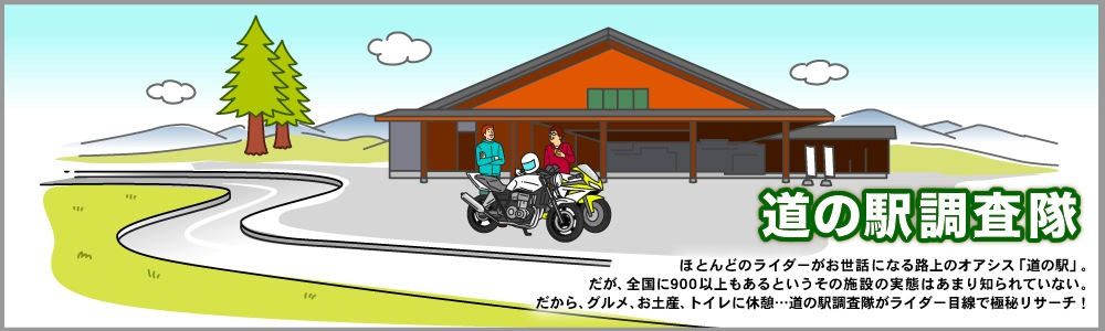 道の駅 調査隊