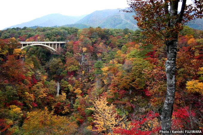 日本の絶景100選 鳴子峡(宮城県)の画像