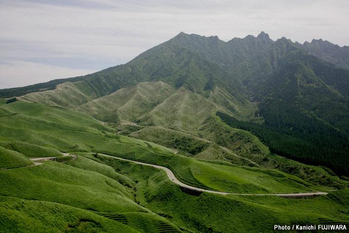 日本の絶景100選 阿蘇箱石峠(熊本県)の画像