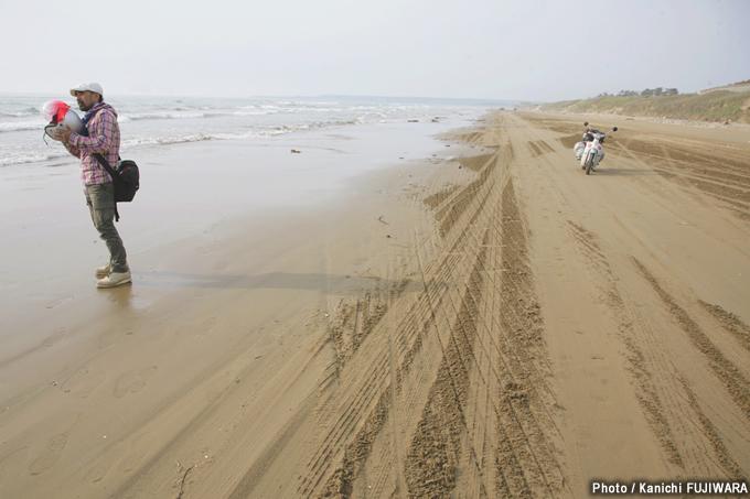 日本の絶景100選 千里浜なぎさドライブウェイ(石川県)の画像