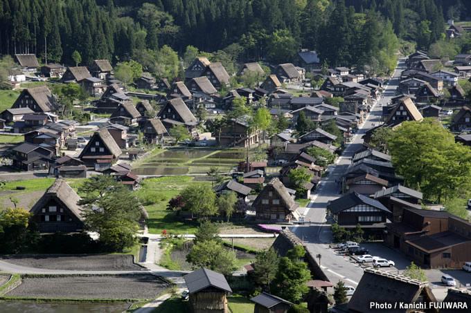 日本の絶景100選 白川郷(岐阜県)の画像
