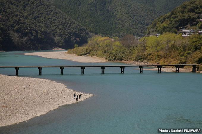 日本の絶景100選 四万十川(高知県)の画像