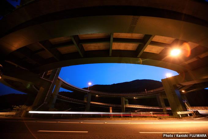 日本の絶景100選 河津七滝ループ橋(静岡県)の画像