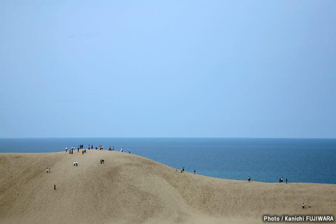 日本の絶景100選 鳥取砂丘(鳥取県)の画像
