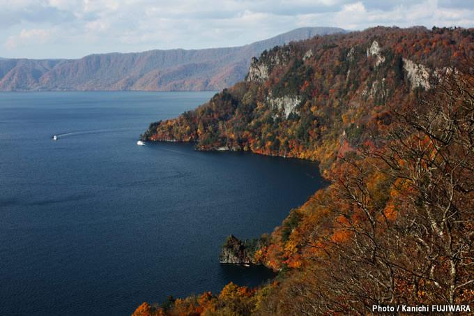 日本の絶景100選 十和田湖(青森県)の画像