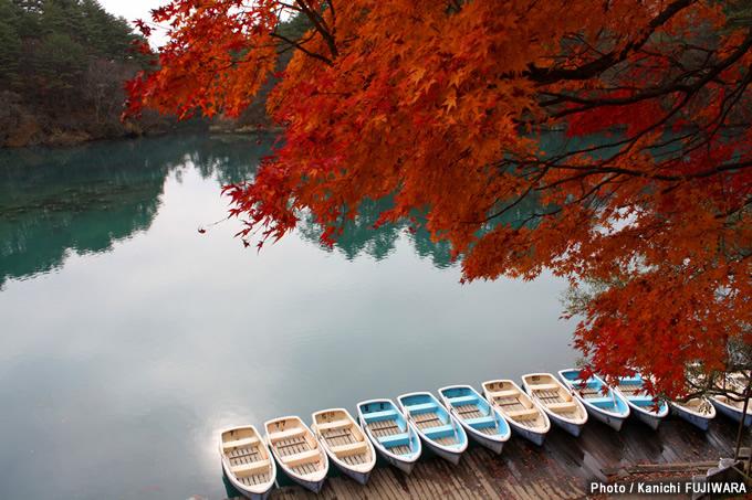 日本の絶景100選 五色沼(福島県)の画像