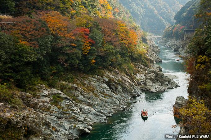 日本の絶景100選 大歩危小歩危(徳島県)の画像