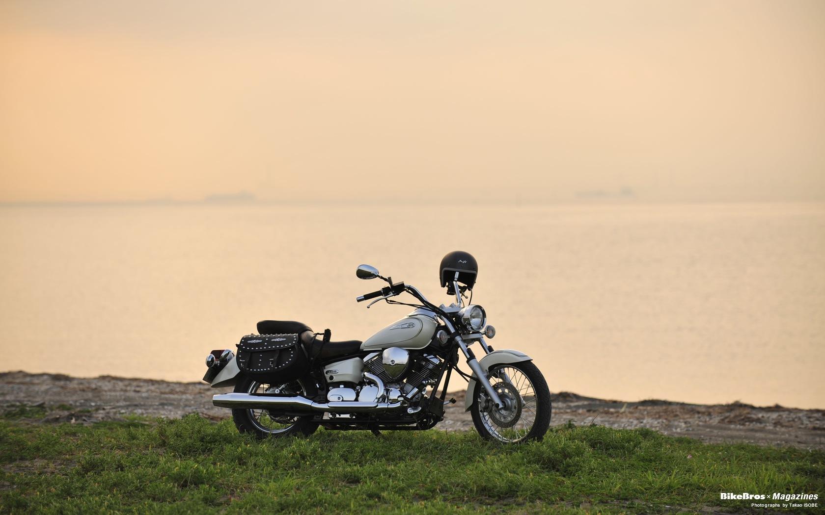 ヤマハ Dragstar250 バイク壁紙集 最新のアメリカン クルーザーの