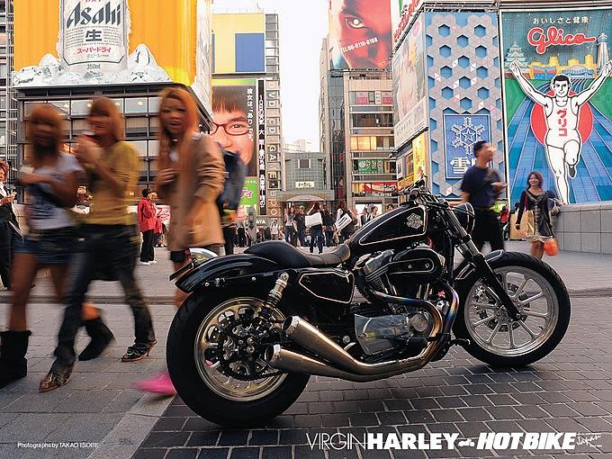 ハーレーダビッドソン 2004 XL883 TRAMP custom