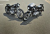 ヤマハ XS650SPL & カワサキ W3