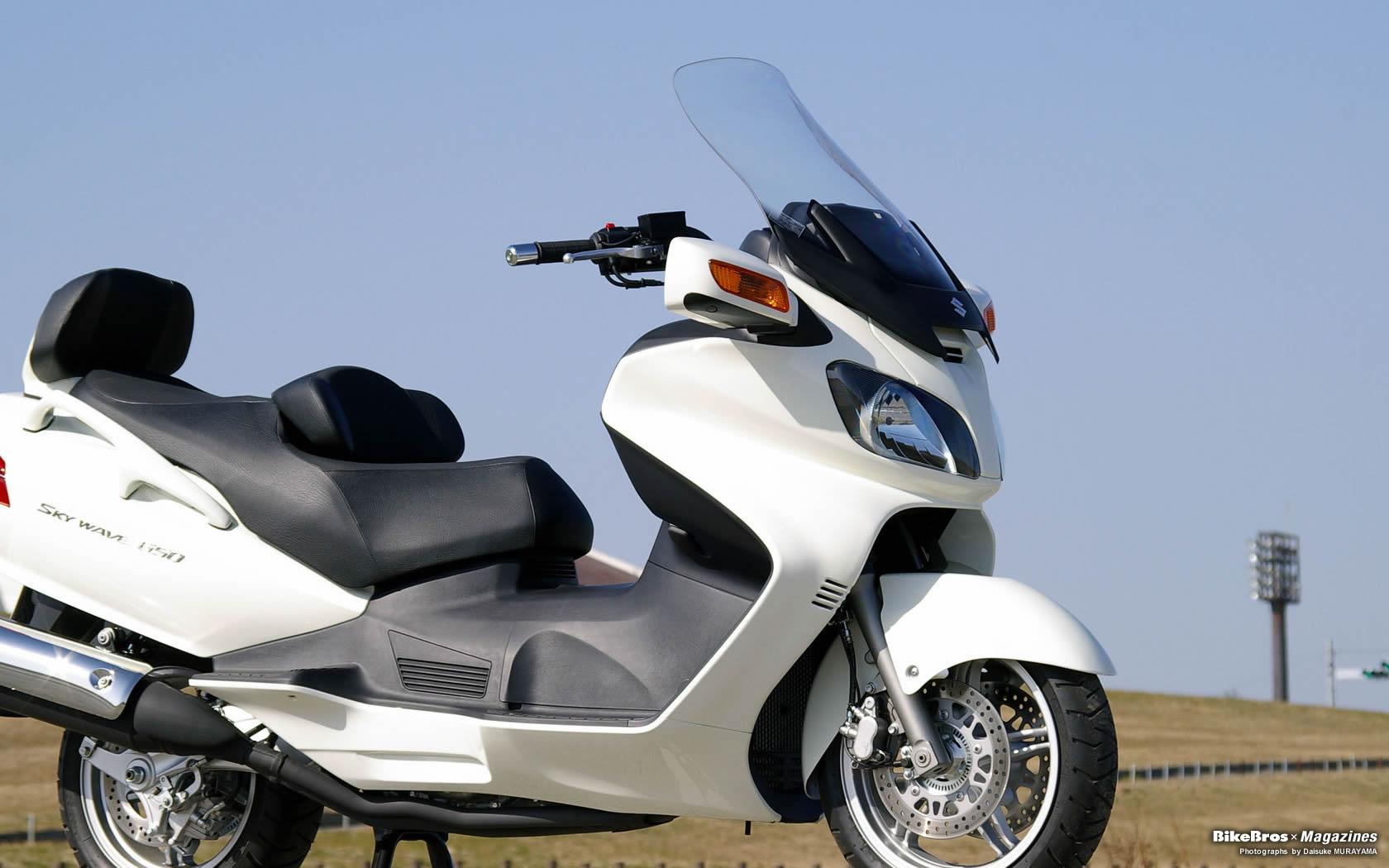 スズキ Skywave650lx バイク壁紙集 ビッグスクーターならバイクブロス