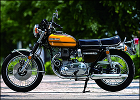 KAWASAKI 650RS W3 1973