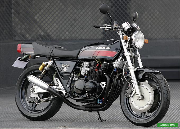 カワサキ Z400FX 1981