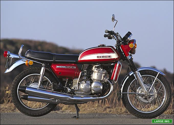 スズキ GT750 1971