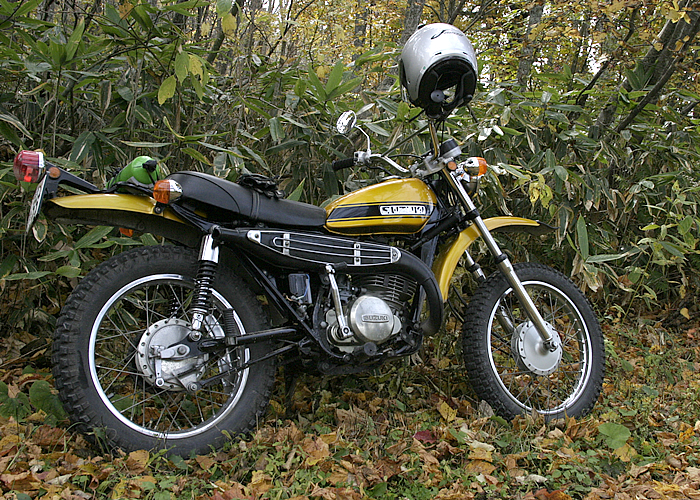 SUZUKI TS250 HUSTLER 1971