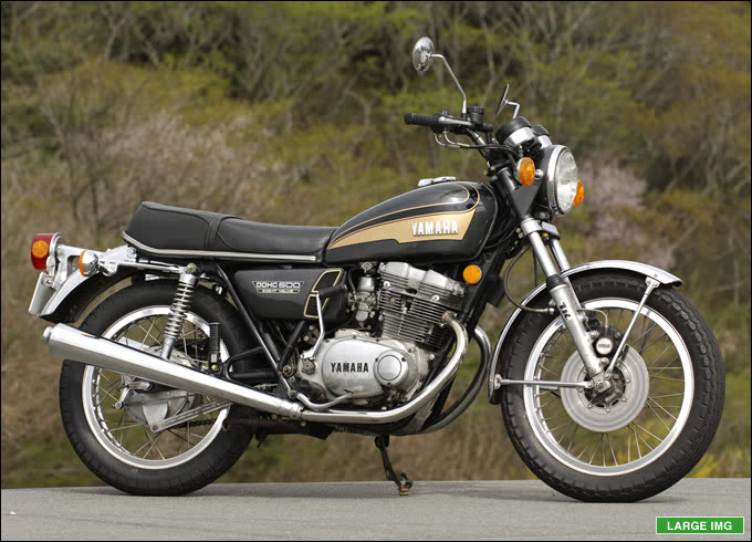 ヤマハ TX500 1973